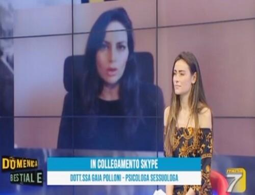 Intervista in diretta su Italia 7