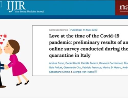Il nostro studio è appena stato pubblicato sulla rivista scientifica IJIR