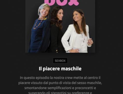 Nuova puntata di Sex Box: il piacere maschile!